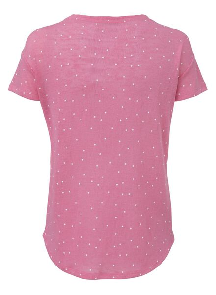 women's T-shirt light pink light pink - 1000006770 - hema