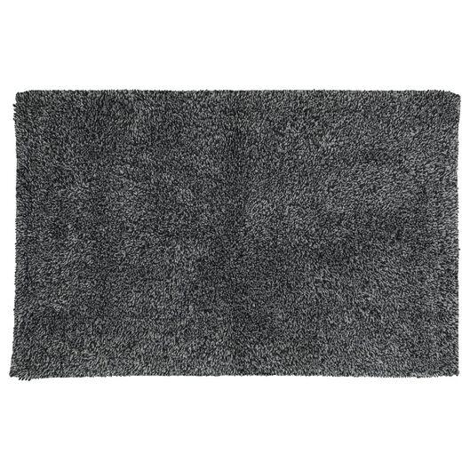 tapis de bain - 50 x 85cm - qualité hôtel très douce - gris foncé - 5210001 - HEMA