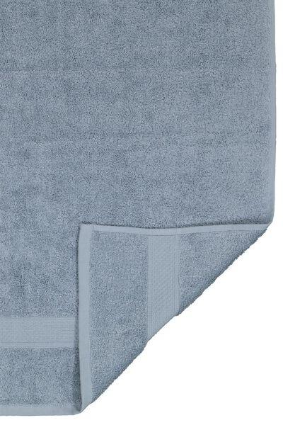 serviette de bain 70x140 qualité épaisse bleu glacier bleu serviette 70 x 140 - 5230041 - HEMA