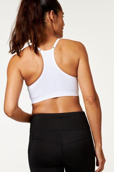 dames sporttop lichte sporten wit wit - 1000018881 - HEMA