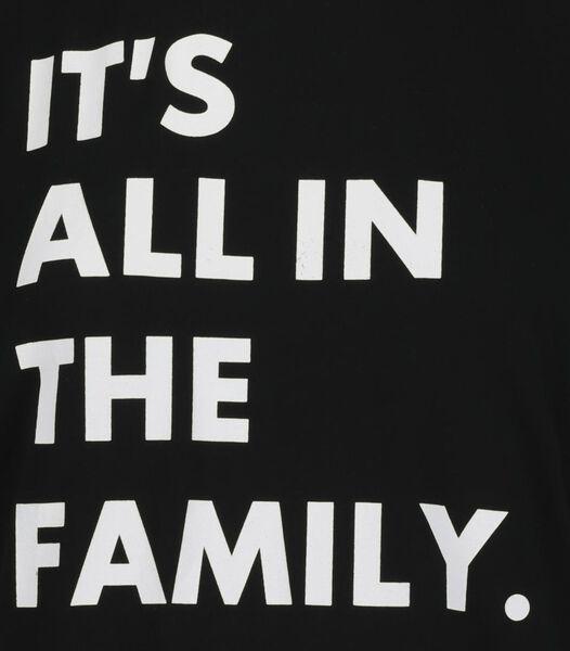 T-shirt for adults - mini-me black black - 1000019536 - hema