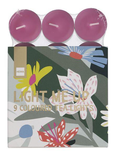 9 bougies d'ambiance - 60120026 - HEMA