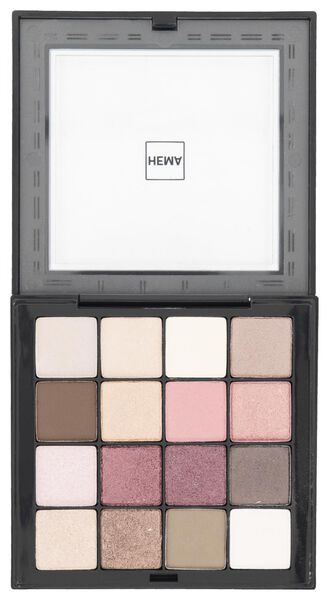 palette ombres à paupières nude - 11218508 - HEMA