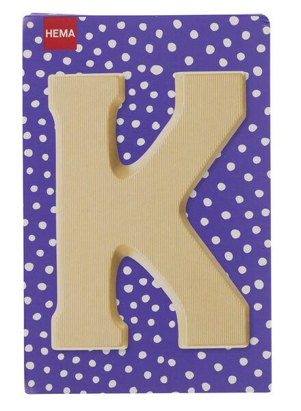 white chocolate letter K - 10037009 - hema