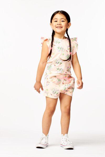 t-shirt enfant volant rose rose - 1000023647 - HEMA