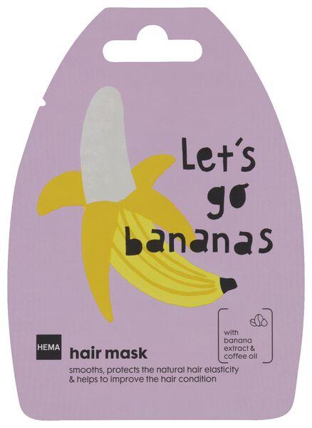 masque pour cheveux banane - 20 g - 11000050 - HEMA