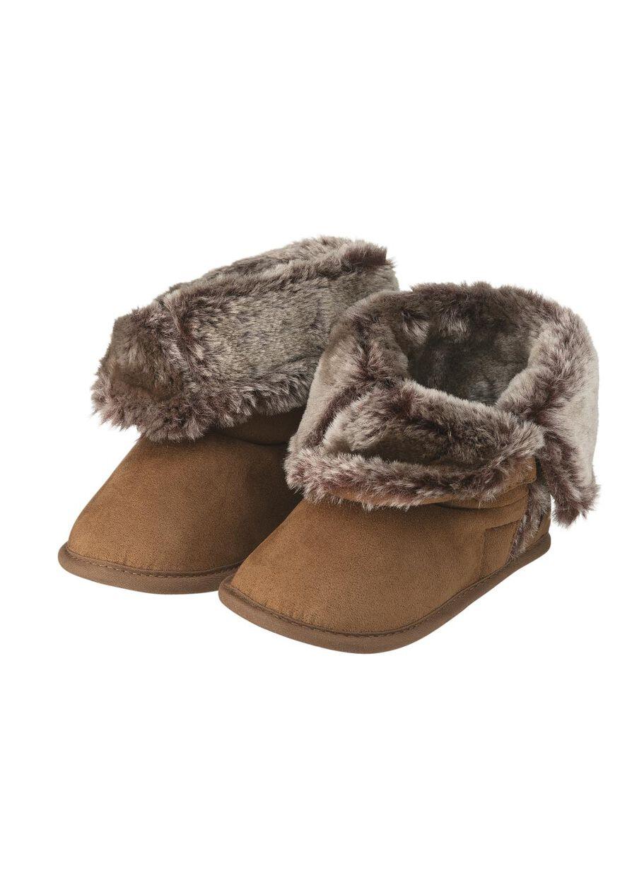 renommée mondiale meilleure collection grande sélection chaussons bébé marron
