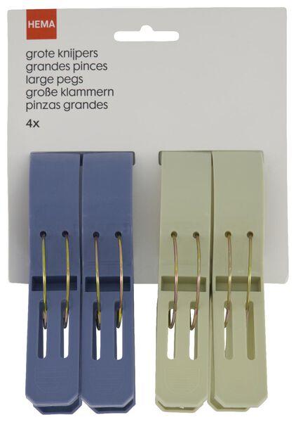 4er-Pack Klammern, 12 cm - 41820408 - HEMA