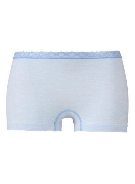 women's seamless boxer shorts light blue light blue - 1000006526 - hema