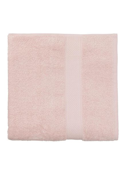 towel - 70 x 140 cm - heavy quality - light pink plain light pink towel 70 x 140 - 5240014 - hema