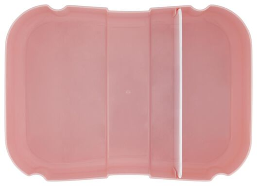 lunch box with elastic pink - 80640010 - hema