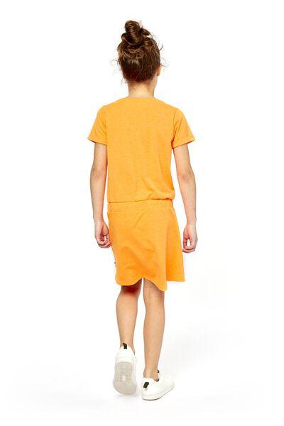 Kinder-Kleid orange orange - 1000018938 - HEMA