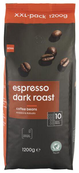 Espressobohnen Dark Roast – 1.2 kg - 17110026 - HEMA