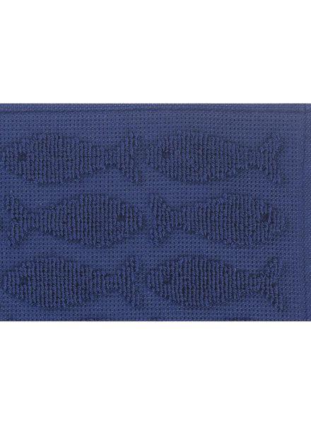 kitchen towel 50 x 50 cm keukendoek dark blue - 5400014 - hema