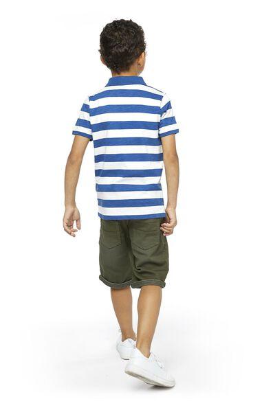 Kinder-Poloshirt blau blau - 1000018897 - HEMA