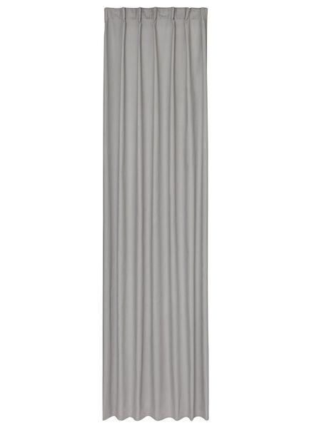 rideau prêt-à-poser avec ruban plisseur - 7632120 - HEMA