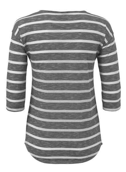 women's T-shirt black black - 1000007233 - hema