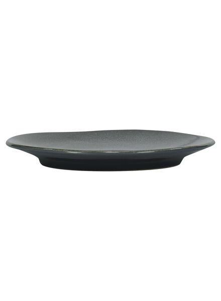 assiette à dessert 16,5 cm - Porto émail réactif - noir - 9602032 - HEMA
