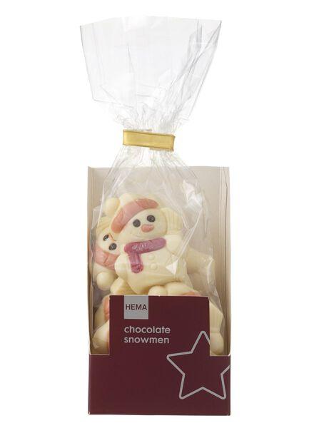 white chocolate snowmen - 10040040 - hema