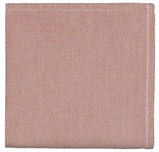 HEMA Torchon 65x65 Coton Terracotta