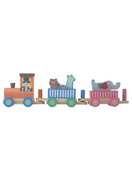 wooden circus train - 15122382 - hema
