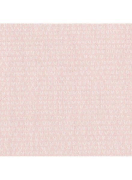 ledikantlaken 120x150 - roze - 33348246 - HEMA