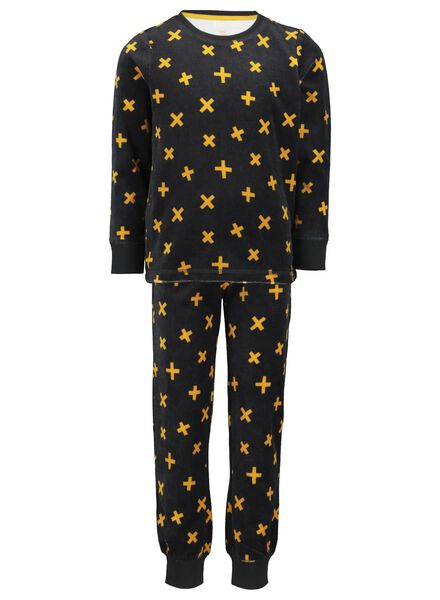 children's pyjamas anthracite anthracite - 1000015566 - hema