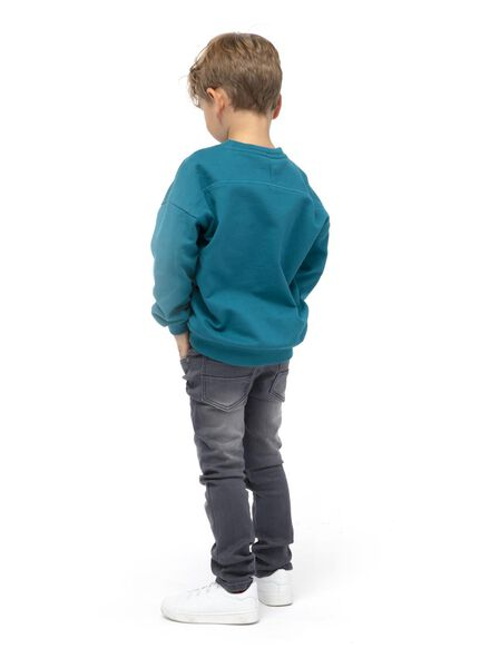 jean enfant modèle skinny gris gris - 1000015007 - HEMA