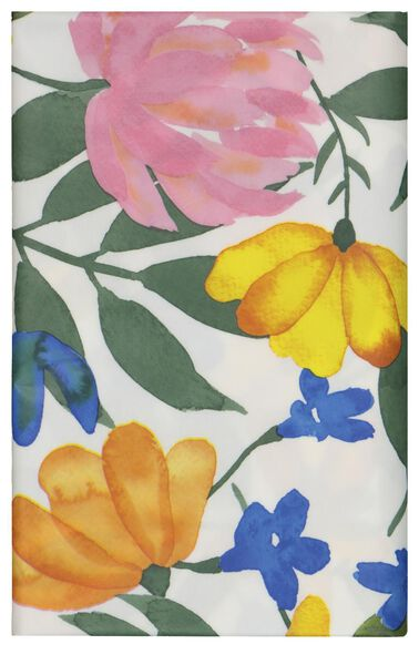 Tischtuch, 140 x 240 cm, Polyester, Blumen - 5300105 - HEMA