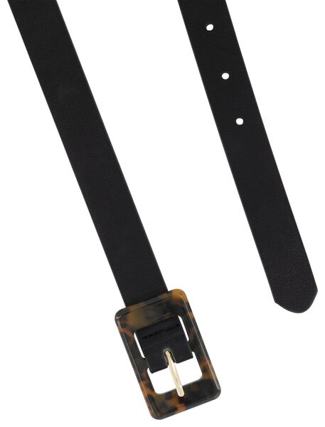 women's belt 2,4 cm black black - 1000017785 - hema