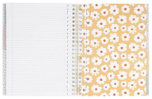 cahier à spirale 4-en-1 A4 ligné - 14590266 - HEMA