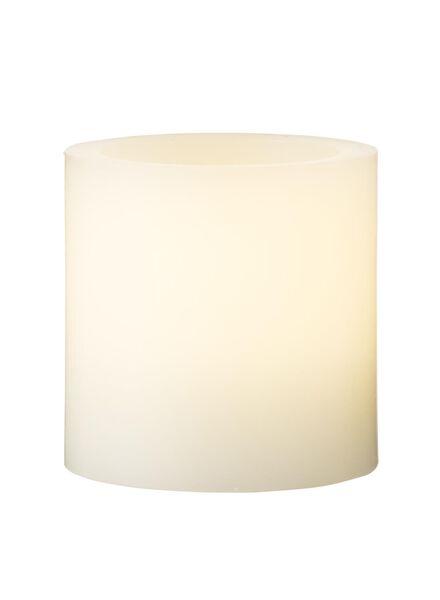 Bougie cylindre avec lampe LED 5 x 5 m - 13530001 - HEMA