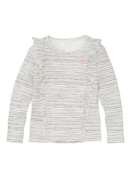 children's T-shirt white white - 1000005720 - hema