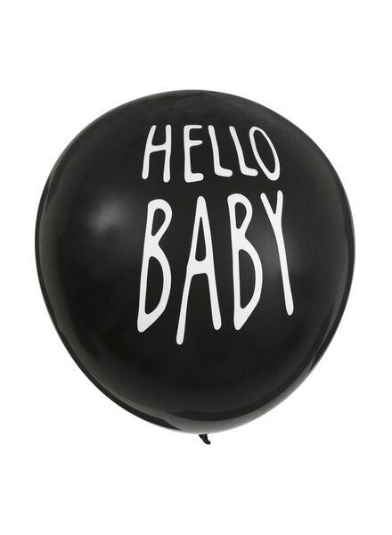 ballon surprise - c'est une garçon - 14230007 - HEMA