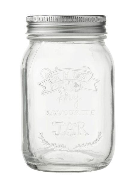 Glasbehälter, 0.5 Liter - 80810170 - HEMA