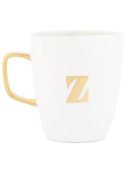 Becher A bis Z weiß weiß - 1000017045 - HEMA