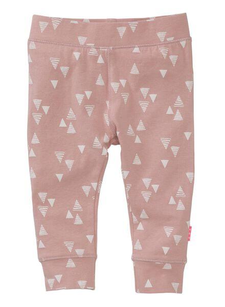 newborn trousers pink pink - 1000006382 - hema