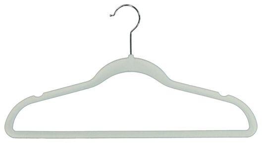 kledinghangers velours mintgroen - 6 stuks - 39820501 - HEMA