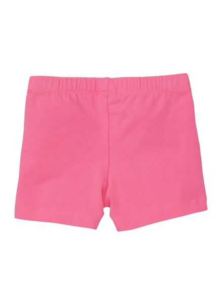 children's leggings short bright pink bright pink - 1000006348 - hema