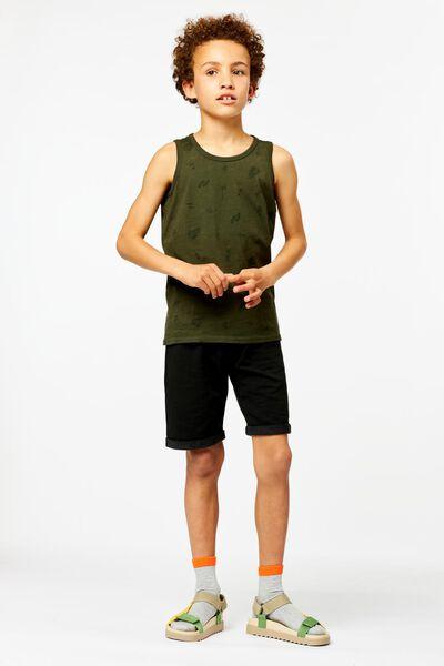 2er-Pack Kinder-Shorts schwarz 86/92 - 30738520 - HEMA