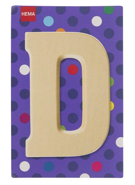 white chocolate letter D - 10037003 - hema