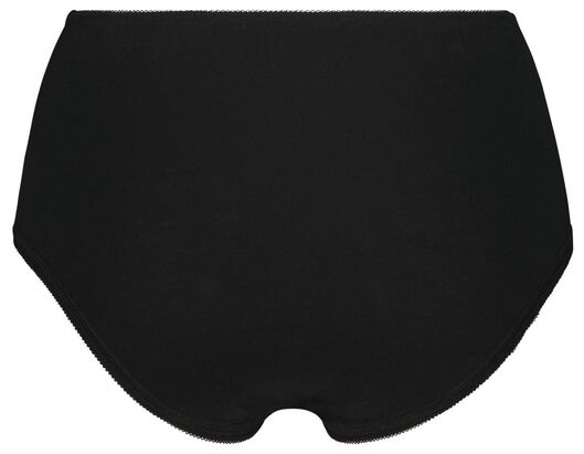 Damen-Taillenslip, Spitze schwarz schwarz - 1000024122 - HEMA