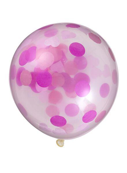 6-pack confetti balloons - 14230001 - hema