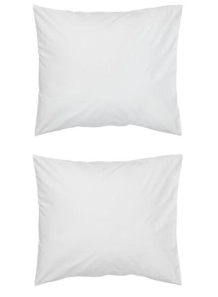 HEMA Taies D'oreiller - Coton Doux Blanc (blanc)