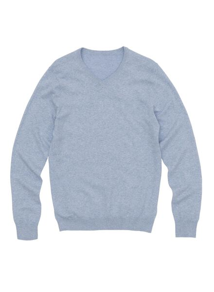 men's sweater light blue light blue - 1000005860 - hema