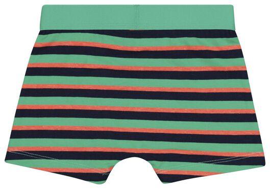 4 boxers enfant coton/stretch crèmes glacées bleu bleu - 1000024505 - HEMA