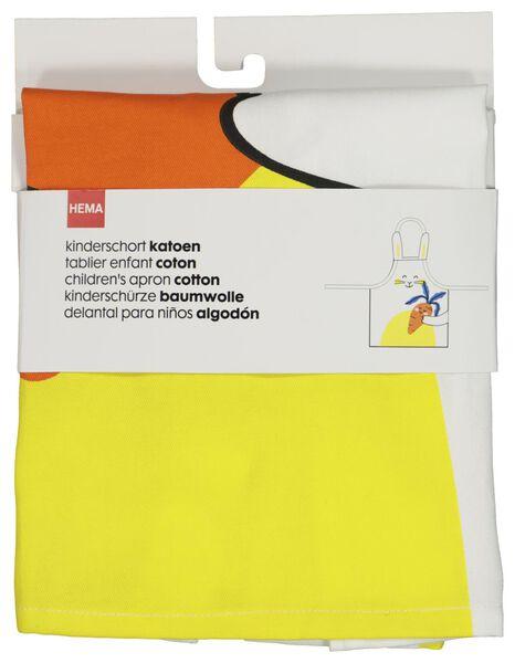 children's apron Easter white cotton - 5400058 - hema