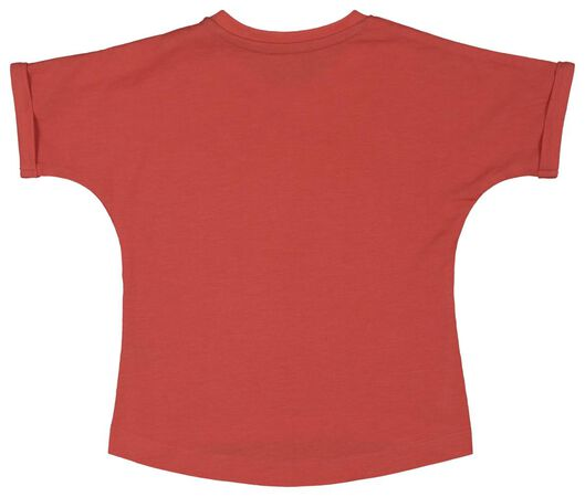 Baby-T-Shirt korallfarben korallfarben - 1000018083 - HEMA