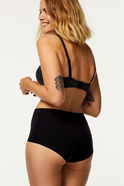 boxer femme en micro noir noir - 1000018594 - HEMA