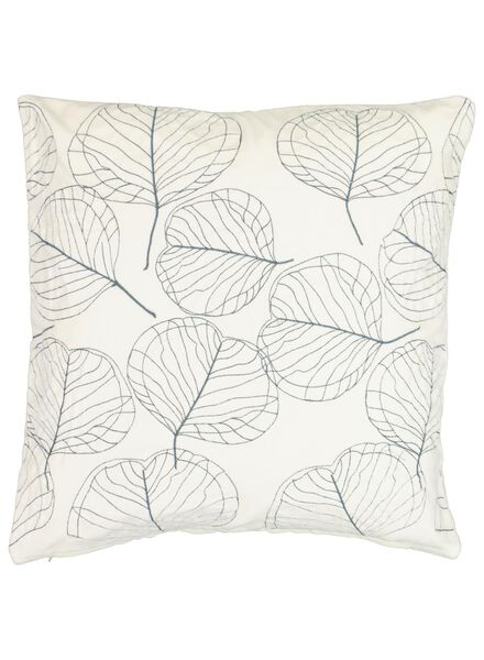 cushion cover - 50 x 50 - natural embroidered - 7392041 - hema